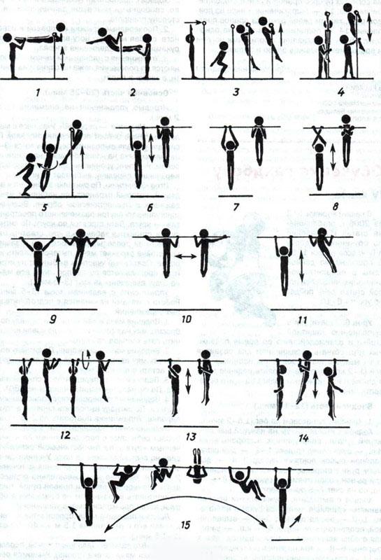 снарядовая гимнастика комплекс