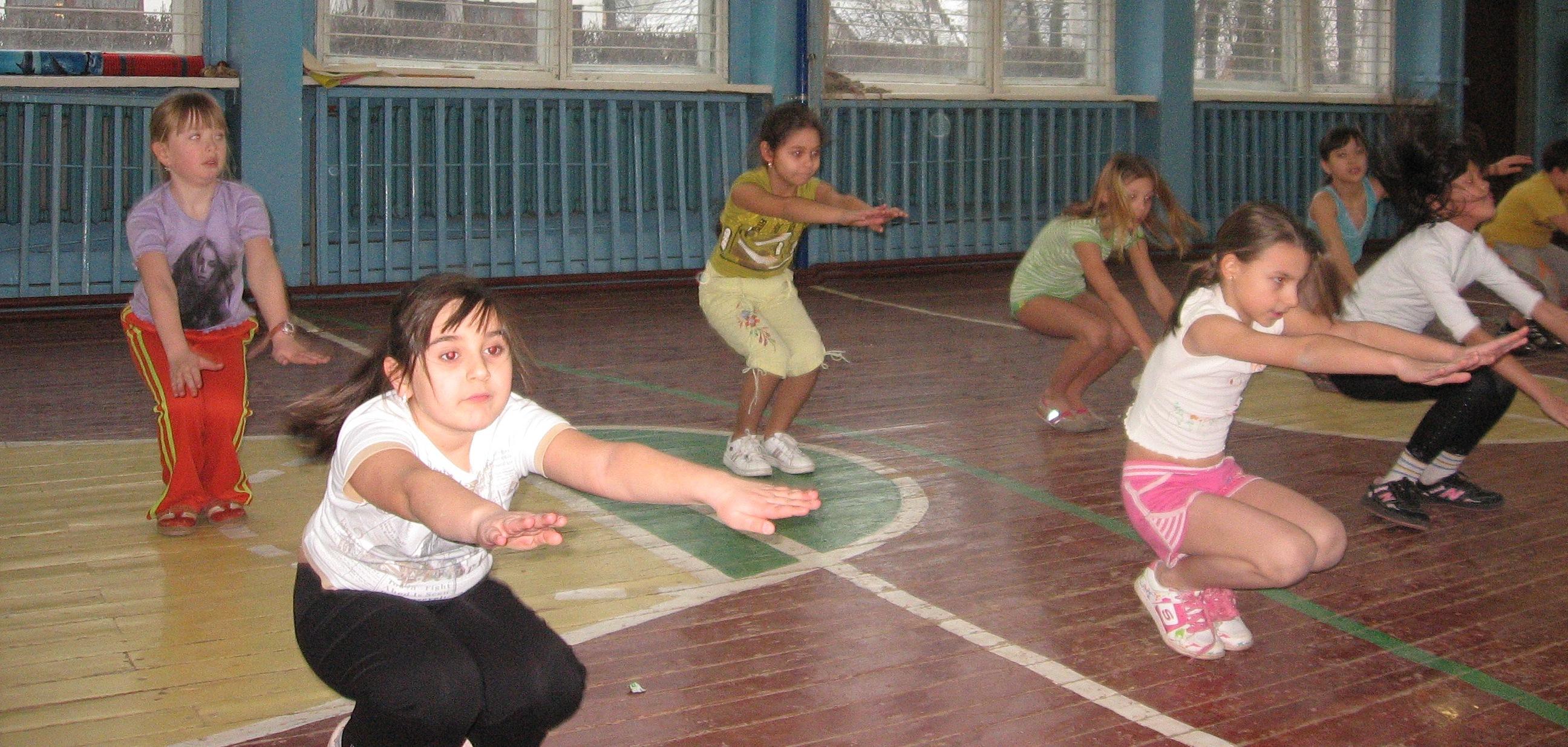 общее физическое развитие учащихся