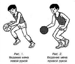 ведение мяча